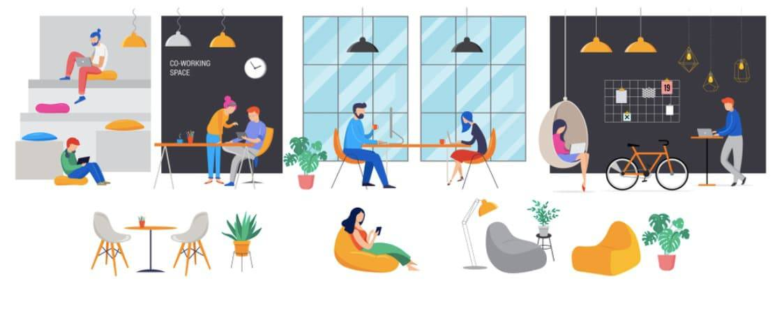 Future of Co-Working Space Business in India 2020