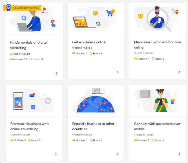 Google Digital Marketing - %title%- The Blue Oceans Group