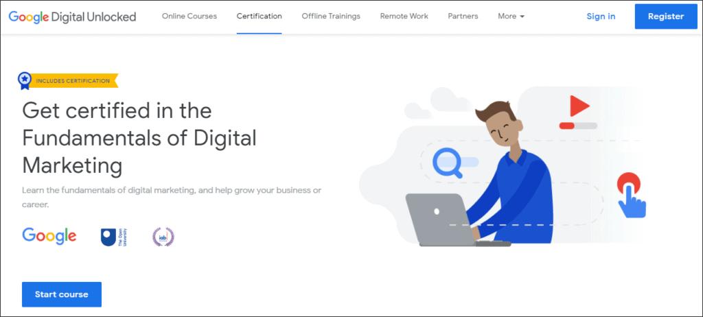 Google Digital Unlocked 1 - %title%- The Blue Oceans Group