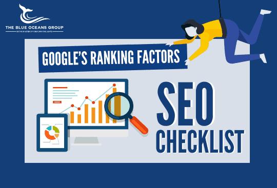 Google Ranking Factors and SEO Checklist