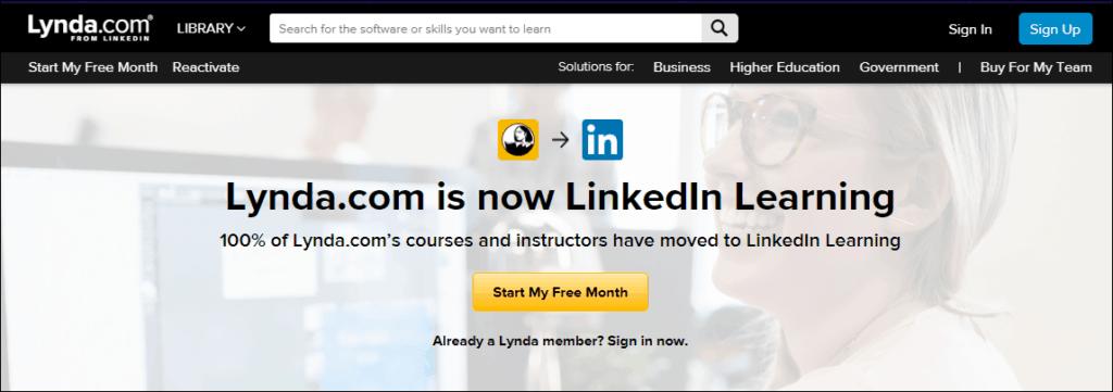 Lynda Linkedin Learning - %title%- The Blue Oceans Group