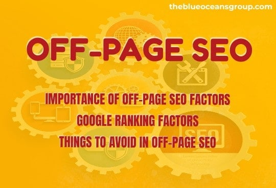 35 Off-page seo factors Infographic