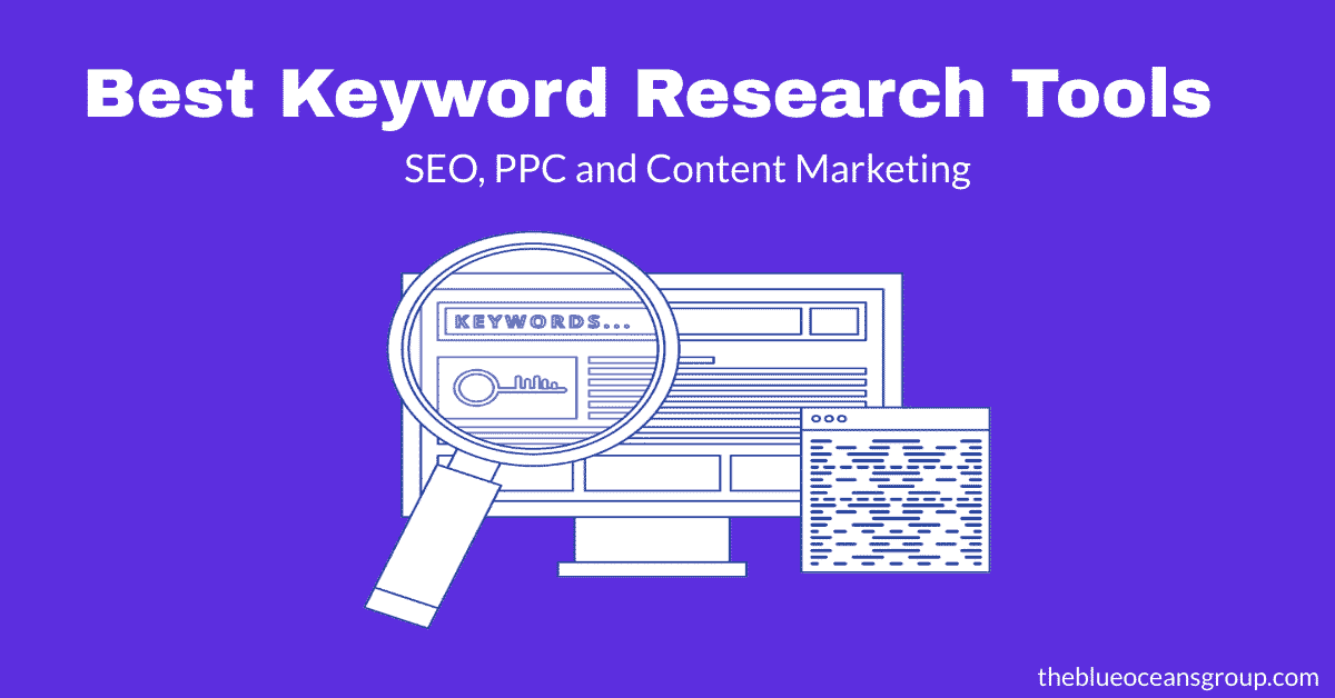 best keyword research tools for seo, ppc and content marketing