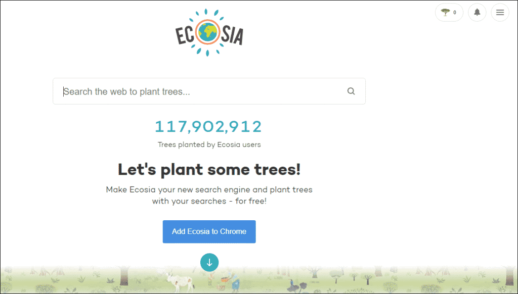 Ecosia Environment-Friendly Search Engine- The Best Search Engine that Plants Trees