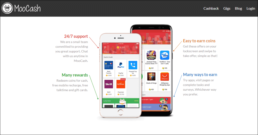 Moocash money earning app - %title%- The Blue Oceans Group