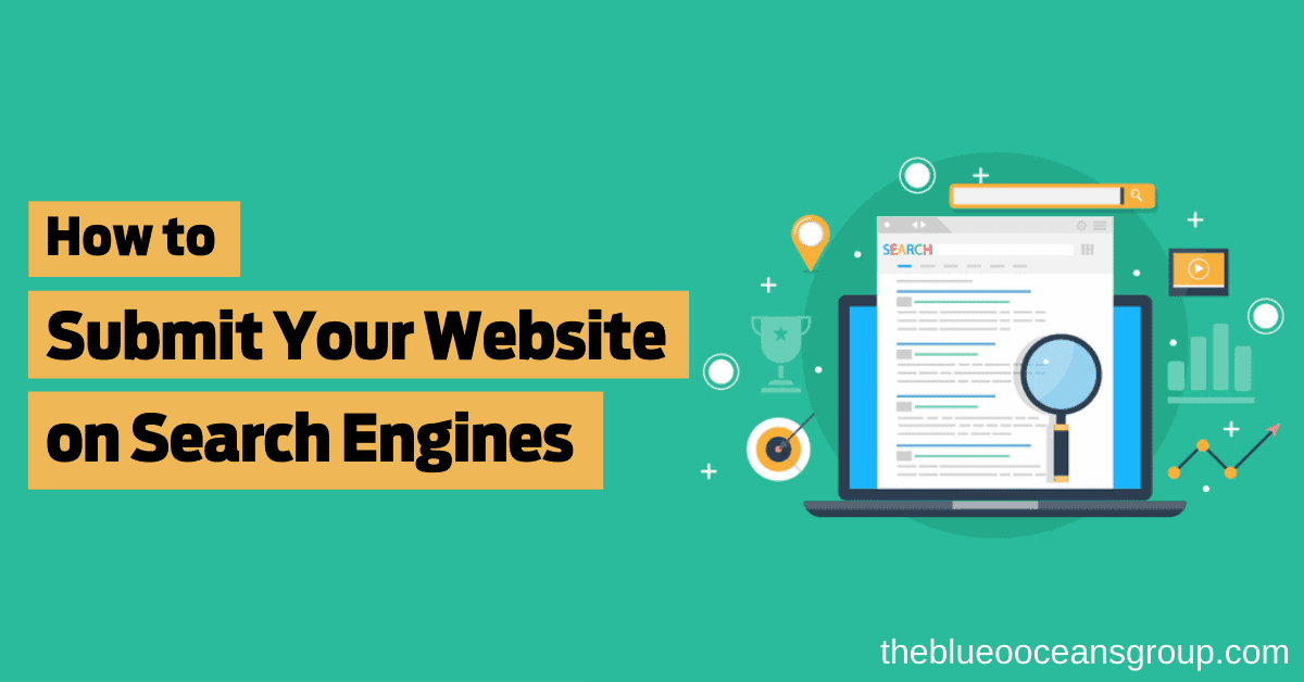 Submit website on search engines