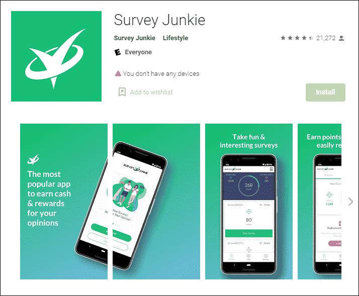 Survey Junkie Money Earning App - %title%- The Blue Oceans Group