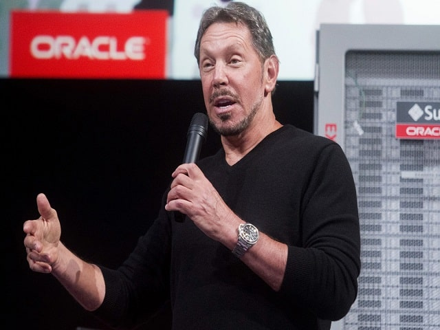 Top 10 Richest Man in the World- Larry Ellison, Oracle