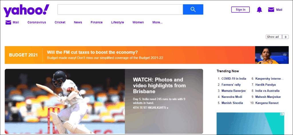 Yahoo Search Engine- 1.46% Global Market Share