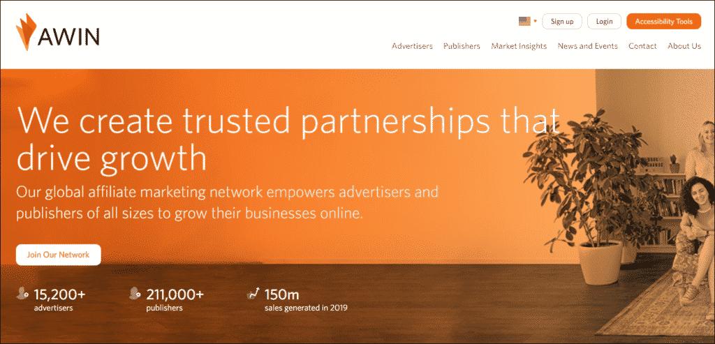 Awin Affiliate Marketing Program