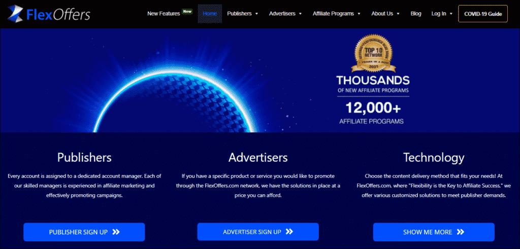 FlexOffers Affiliate Marketing Program:
