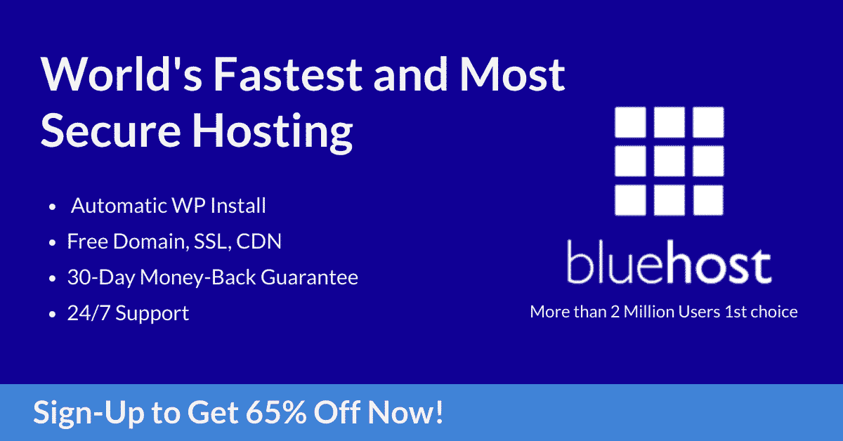 Bluehost-India-Review- Best Web Hosting- Free Domain- WordPress