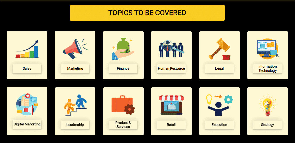 Topics to be covered - %title%- The Blue Oceans Group