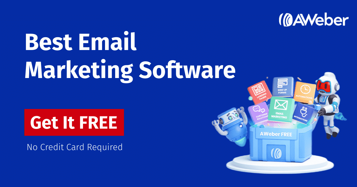 AWeber Review, Features, Pricing 2021- Free Email Marketing