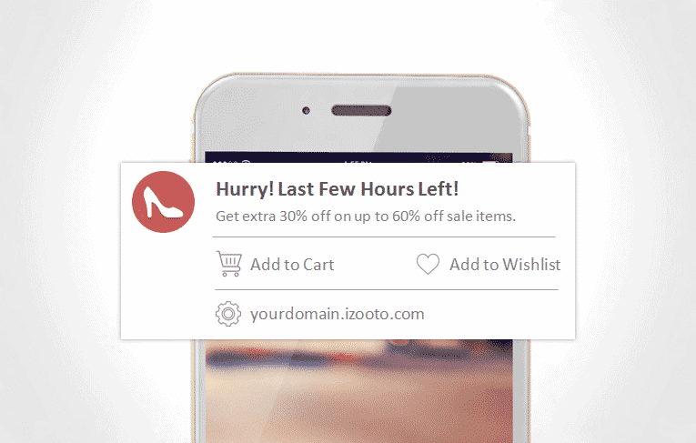 Create urgency in offers while aiming to increase web push notifications