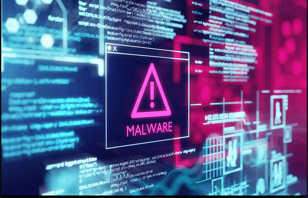 Website malware threat and alert