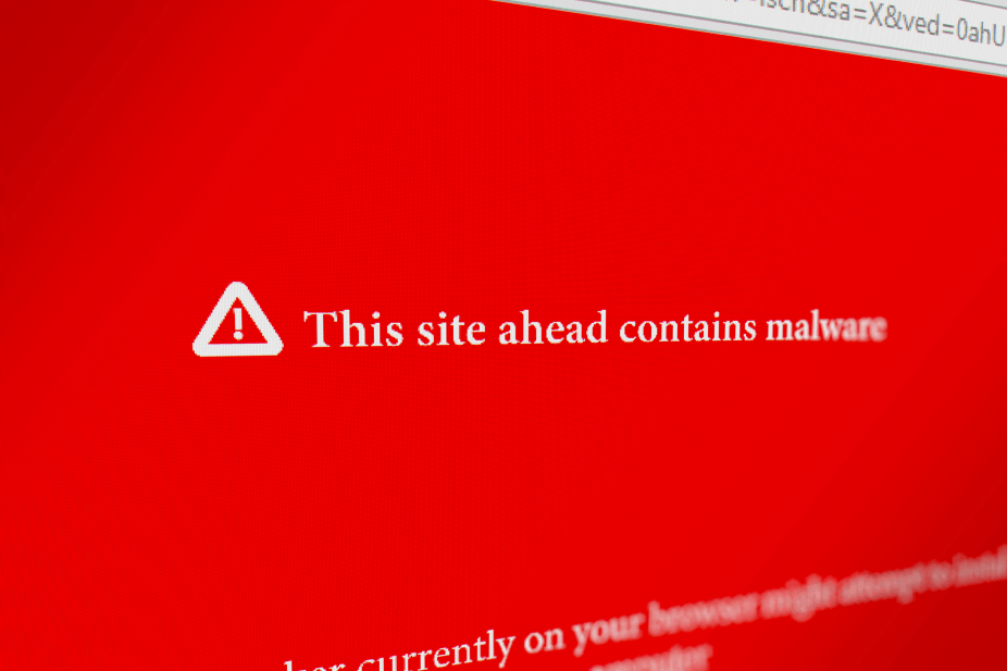 red screen of death - %title%- The Blue Oceans Group