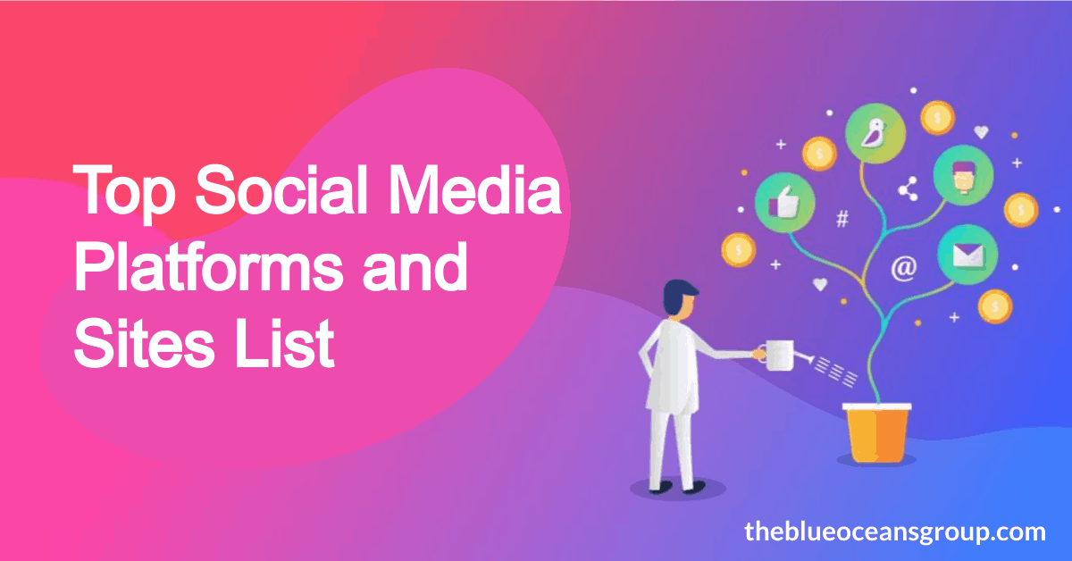Top Social Media Platforms and Sites List in 2021