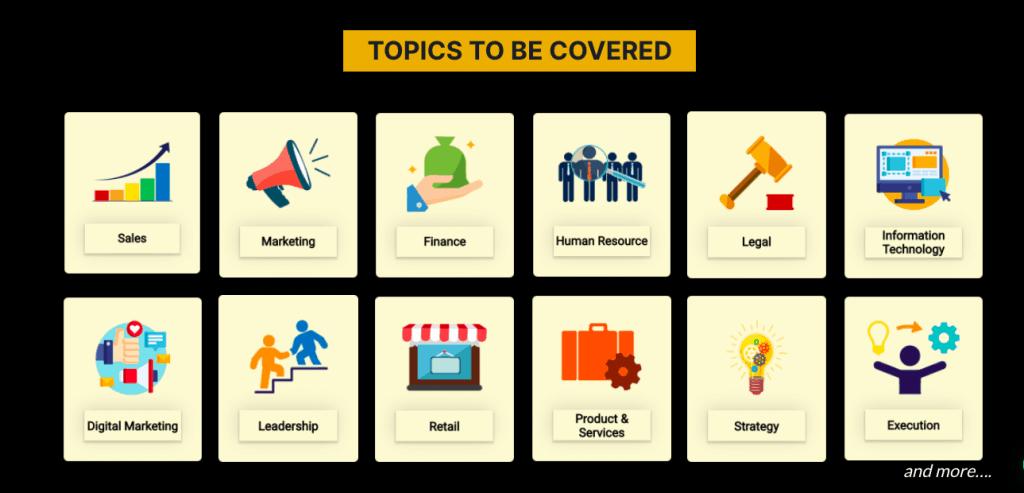 BCP Topics Business Coaching Program Vivek Bindra Bada Business