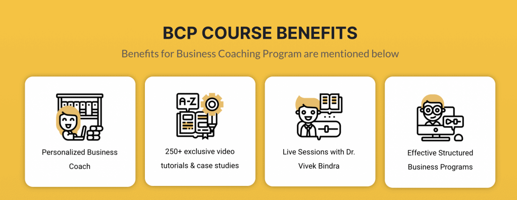 BCP Course Benefits by Dr Vivek Bindra